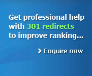 Get professional help with 301 redirects