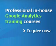 Professional Google Analytics training courses