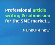 Professional article writing and submission service