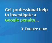 Professional help to solve a Google penalty